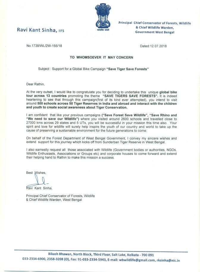 PCCF Letter
